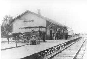 Markham Village Train Station, c.1900