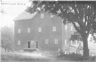 Union Mills on the Rouge River, built 1841, burned 1930s
